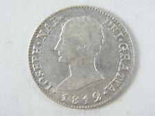 Moneda España  4 Reales Jose Napoleon 1812 Sevilla L.A |  Spanish Coins Silver