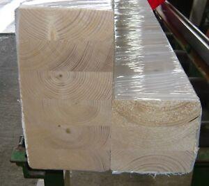 Leimholz Leimbinder Brettschichtholz BSH 8 x 12cm 80x120 mm Sparren Kantholz geh
