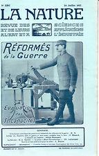 La Nature N°2287 -Juillet 1917- Revue des sciences - Echec des Zeppelins