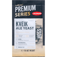 Lallemand LalBrew Premium Series Voss Kveik Ale Active Dry Yeast for Brewing 11G