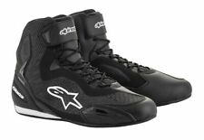 Alpinestars FASTER 3 Rideknit Shoes Commuter Motorcycle Riding Shoes - Black