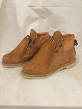 American Made Tru-Guard Safety Shoes Oil Proof Boots Size 6 No Laces
