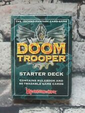 Doom Trooper 1994 Starter Deck NIB