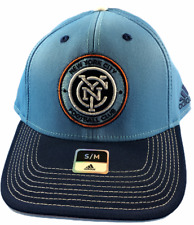 New York City FC MLS Adidas Size S/M Fitted Hat Brand New