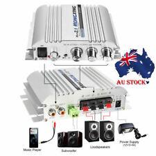 Home Super Bass Hi-Fi 2.1 Stereo Audio Car Amplifier Booster Subwoofer 300W 12V