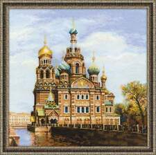 Cross stitch kit RIOLIS 1548 St. Petersburg. Church of the Savior on Blood