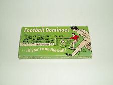 Vintage Football Dominoes by Bear & Bear 1991..