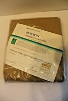 Sears Bon Bon Perma Prest Muslin TWIN Fitted SHEET 608 Indian Sand Tan NEW NOS