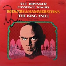 THE KING AND I Yul Brynner / Constance Towers LP - Autographed