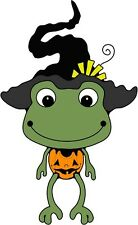 30 Custom Frog Witch Personalized Address Labels
