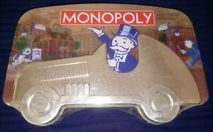 ***New!!! MONOPOLY Collector's Edition, Embossed Car Tin***