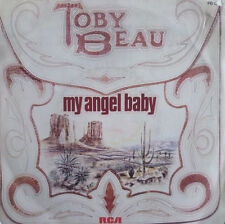 """7"""" 1978 FRENCH PRESS RARE VG++! TOBY BEAU My Angel Baby"""
