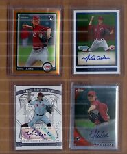 Mike Leake Refractor Rookie Auto lot, # as low as /25 Cardinals
