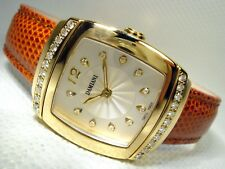 DAMIANI LADY WRIST WATCH 18ct YELLOW GOLD 1.3 CARATS OF DIAMONDS RPP 9665