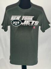 NWT New York Jets NFL Football Team Apparel Logo Majestic Medium Green T- shirt d13337c67