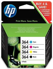 Genuine/Original 4 Colour HP 364 Ink Cartridges For 5510e 5515 6510e 7510e