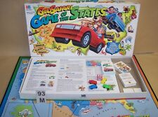 1995 Milton Bradley Geosafari Game of the States  For Kids 8+ Discover The USA