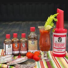 Demitri's Bloody Mary Seasoning Mix Tailgate Party Kit - 8 Piece Set - Bar Set