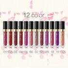 12 Colori Impermeabile Labbra Biancheria Intima Rossetto Mat Liquido