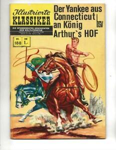Illustrierte Klassiker #188 1960's German Classics CT Yankee In King Arthur's Co