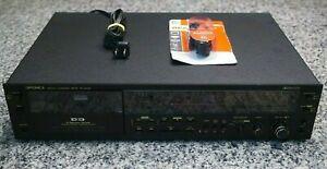 VTG 1981 Sharp Optonica RT-6205 Stereo Cassette Deck DD 2-Motor Dolby NR Hi-Fi