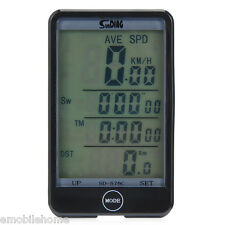 SD-576c MODO Touch ordenador para bicicleta INALÁMBRICO VELOCÍMETRO con LCD