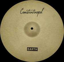 "Constantinopol EARTH CRASH 15"" - B20 Bronze - Handmade Turkish Cymbals"