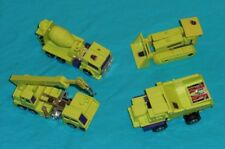 original G1 Transformers constructicon lot x4 Long Haul HOOK Devastator