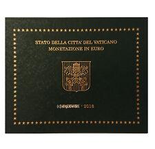 offizieller Kursmünzensatz KMS Vatikan 2018  Motiv Papst Wappen