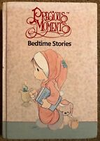 PRECIOUS MOMENTS BEDTIME STORIES HARDCOVER BOOK 1989 Samuel J BUTCHER