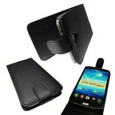 caseroxx Flip Cover for Samsung Galaxy i9205 Mega 6,3 in black made of faux leat