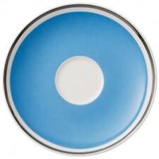 Villeroy & and Boch ANMUT Sky Blue saucer for tea / coffee cup 15cm NEW NWL