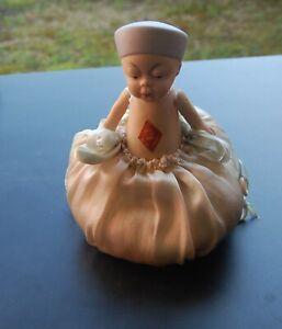 Rare German Queue San Baby Chinese Boy Pincushion Doll