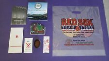Boston Red Sox Fenway Park Replica, Real Field Dirt, Ticket Stub & Much More!