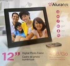 Aluratek ADPMF512F 12 inch Digital Photo Frame