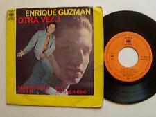 "ENRIQUE GUZMAN: Otra vez! (free me)  - 7"" EP 1963 SPANISH CBS AGS 20.011"