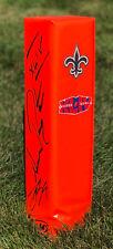 New Orleans Saints DREW BREES SEAN PAYTON Signed Autographed Football Pylon COA