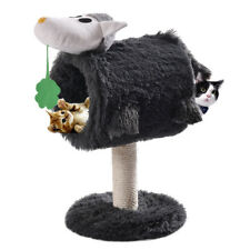Cat Tree Post Condo Scratcher Furniture Play House Pet Bed Kitten Toy