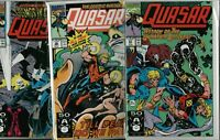 Quasar #23 #26 #27 Thanos Infinity Gauntlet  Near Mint (NM)   ref:A3.136