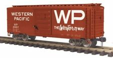 MTH 70-74089 G Scale Western Pacific Railking 40' Metal Wheels Boxcar #20957