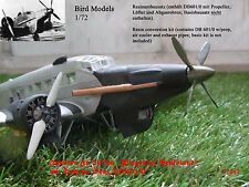 Ju 52/3m Fliegender Prüfstand mit DB 601/0  1/72 Bird Models Umbausatz/conv. kit