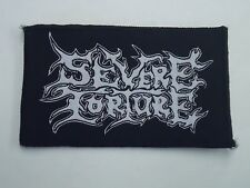 SEVERE TORTURE DEATH METAL WOVEN PATCH