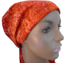 Red Cancer Chemo Hair Loss Scarf Turban Head Wrap Bad Hair Day Calypso 20