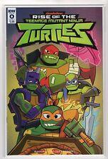 Rise of the Teenage Mutant Ninja Turtles #0 TMNT Nickelodeon IDW Comic NM