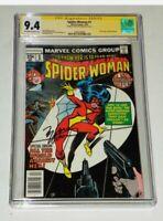 Spiderwoman 1 CGC 9.4 New Origin Signed M Wolfman