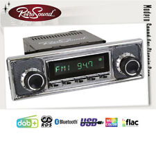 For Jaguar 1961-75 Vintage Car Radio DAB+ Fm USB Bluetooth Aux