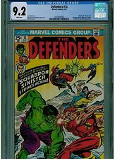 DEFENDERS #13 CGC 9.2 WHITE PAGES 1974 HULK COVER BLUE LABEL MARVEL COMICS