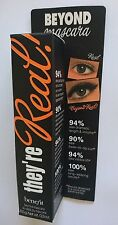 BENEFIT THEYRE REAL MASCARA NEW IN BOX FULL SIZE 8.5g BLACK