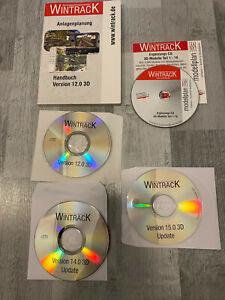 Original Wintrack Vollversion 15.0 3D + Ergänzung CD 3D Modelle Teil 1-18