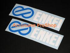 "2x8.5""21.6cm ENKEI Decal Sticker wrx sti evo gtr rx7 RPF1 NT ES JDM racing vinyl"
